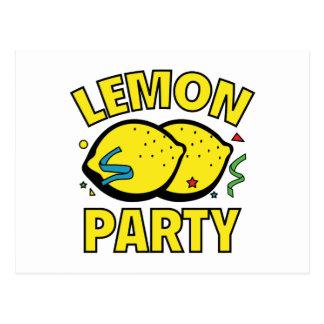 Fiesta del limón postal
