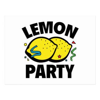 Fiesta del limón tarjetas postales