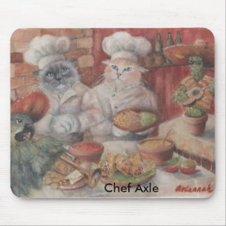 Fiesta del mexicano del árbol del cocinero tapete de raton