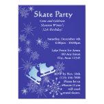Fiesta del patinaje de hielo anuncios personalizados