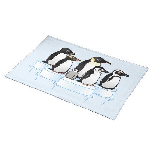 Fiesta del pingüino manteles individuales