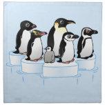 Fiesta del pingüino servilleta