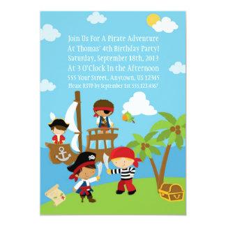 Fiesta del pirata - invitaciones personalizadas anuncio personalizado