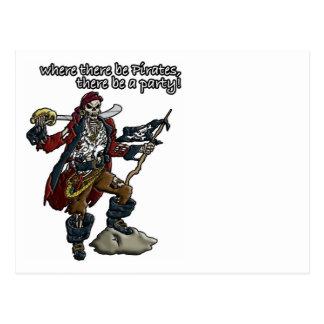 Fiesta del pirata postal