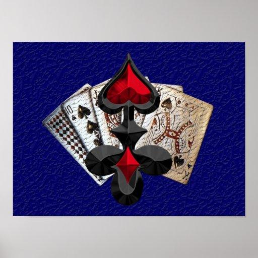 Fiesta del póker póster