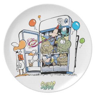 Fiesta del refrigerador de la descarga del pantano plato para fiesta