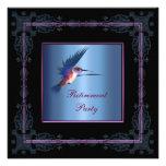 Fiesta del retiro de la mujer púrpura del colibrí comunicado personal
