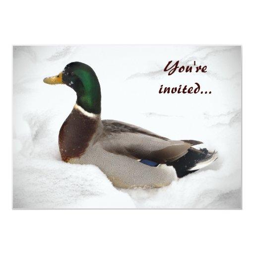 Fiesta del solsticio de invierno del pato comunicado personal