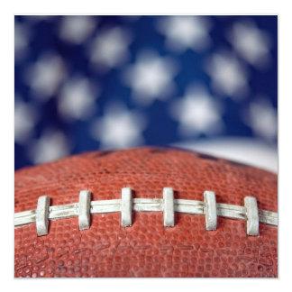 Fiesta del Super Bowl Invitación 13,3 Cm X 13,3cm