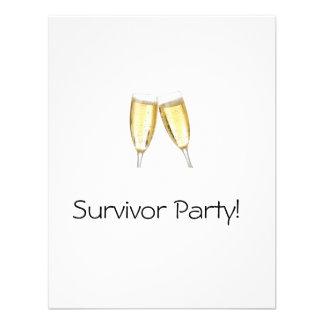 Fiesta del superviviente anuncios