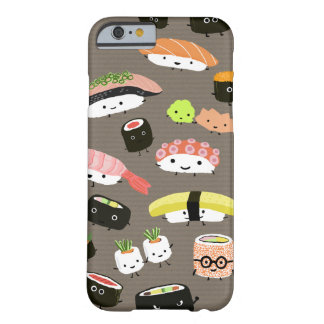Fiesta del sushi funda para iPhone 6 barely there