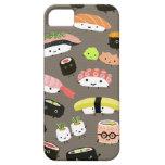Fiesta del sushi iPhone 5 carcasa