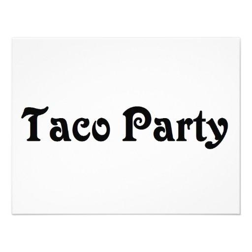 Fiesta del Taco Anuncios