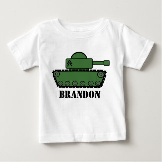 Fiesta del tanque playera de bebé