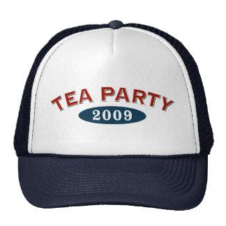 Fiesta del té 2009 gorras