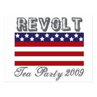 fiesta del té 2009 postal