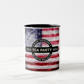 Fiesta del té 2010-2012 tazas de café