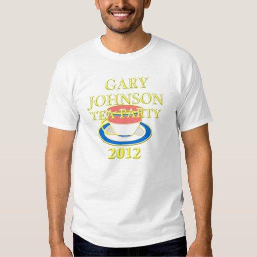 fiesta del té 2012 de Gary Johnson Playera