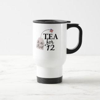 Fiesta del té 2012 del voto taza
