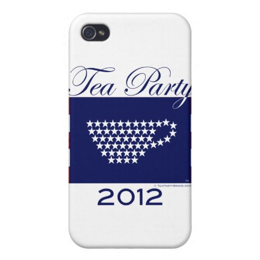 Fiesta del té 2012 - Materia fresca iPhone 4/4S Carcasa