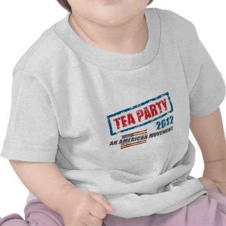 Fiesta del té 2012 camisetas