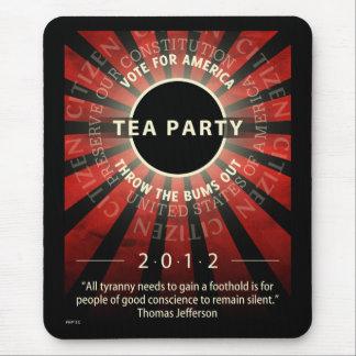 Fiesta del té 2012 tapete de ratones