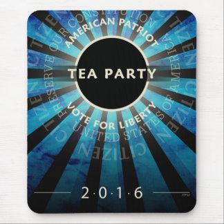 Fiesta del té 2016 alfombrilla de raton