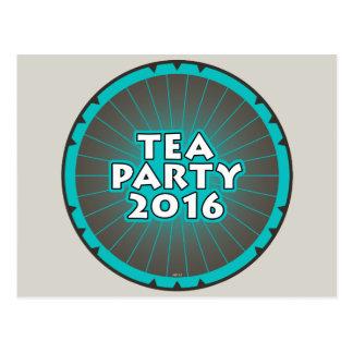 Fiesta del té 2016 postales