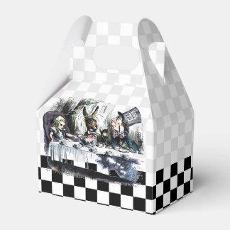 Fiesta del té 2 cajas para detalles de boda