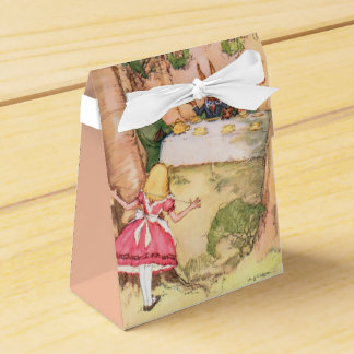 Fiesta del té 4 cajas para regalos de boda