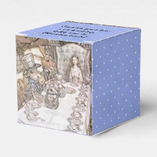 Fiesta del té 6 cajas para detalles de boda