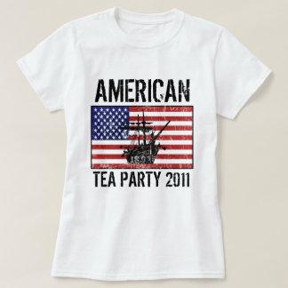 Fiesta del té americana 2011 playera