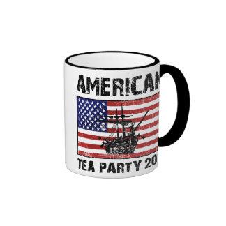 Fiesta del té americana 2011 taza de dos colores