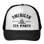 Fiesta del té americana gorros