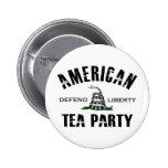 Fiesta del té americana pins