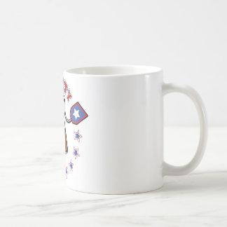 Fiesta del té americana tazas de café