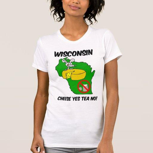 Fiesta del té anti de Wisconsin Camisetas