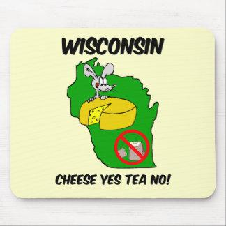 Fiesta del té anti de Wisconsin Alfombrillas De Ratones