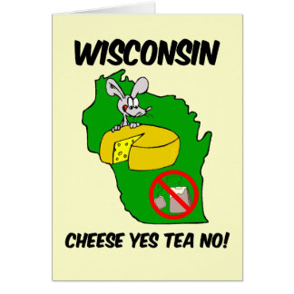 Fiesta del té anti de Wisconsin Tarjeta De Felicitación