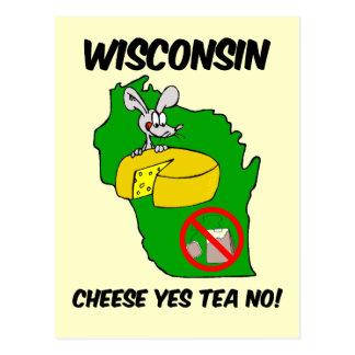 Fiesta del té anti de Wisconsin Tarjetas Postales