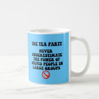 Fiesta del té anti tazas de café