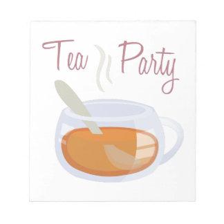 Fiesta del té bloc