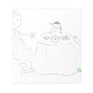 Fiesta del té bloc de notas