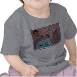 Fiesta del té camisetas