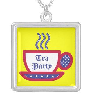 Fiesta del té colgante cuadrado