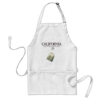 Fiesta del té de Bakersfield California Delantales