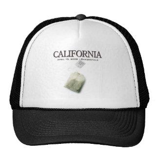 Fiesta del té de Bakersfield California Gorros