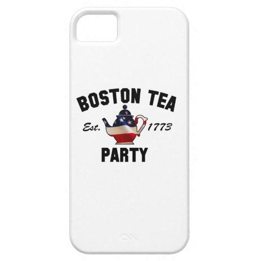 Fiesta del té de Boston - Est. 1773 iPhone 5 Case-Mate Protector