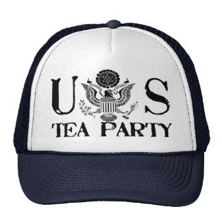 Fiesta del té de Estados Unidos Gorros Bordados