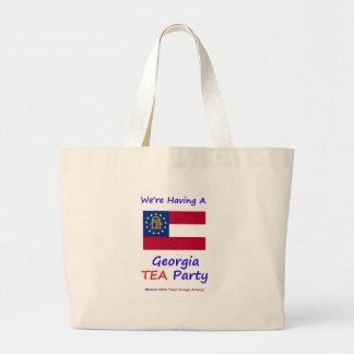 ¡Fiesta del té de Georgia - ya nos gravan bastante Bolsas De Mano